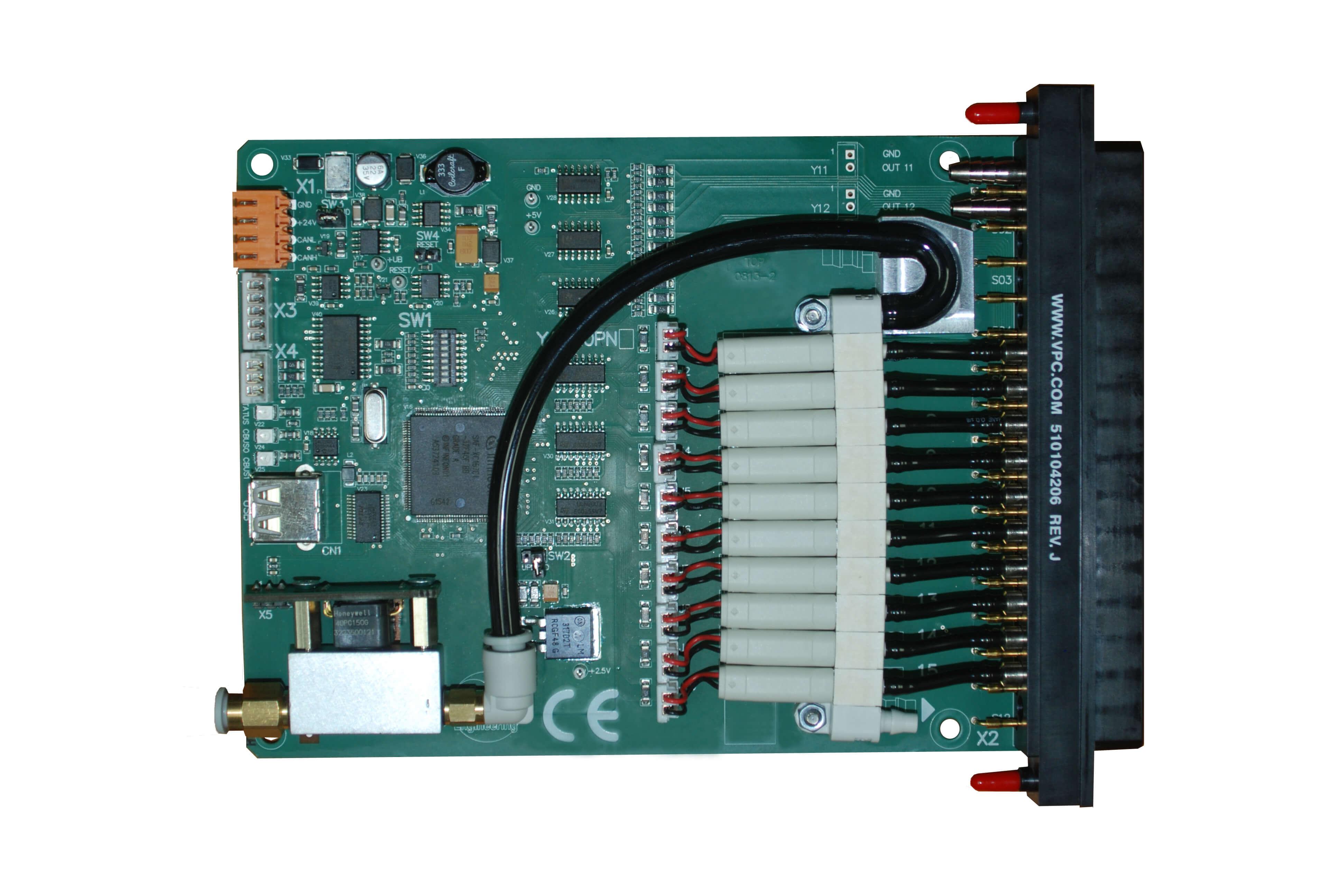 YAV90PNE pneumatic sub system