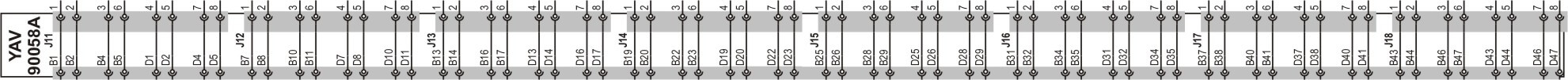 YAV90058A PCB adapter