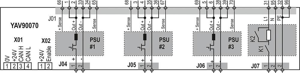 YAV90070 Diagram
