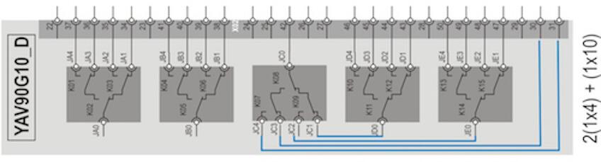 YAV90G10D Multiplexer